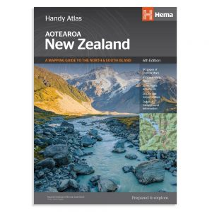 New Zealand Handy Atlas - 6th Edition - Hema