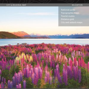New Zealand South Island Map - 8th Edition - Hema