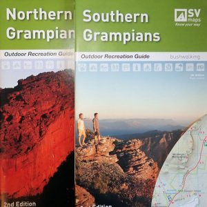 Northern and Southern Grampians Outdoor Recreation Guide Map Pack - SV Maps