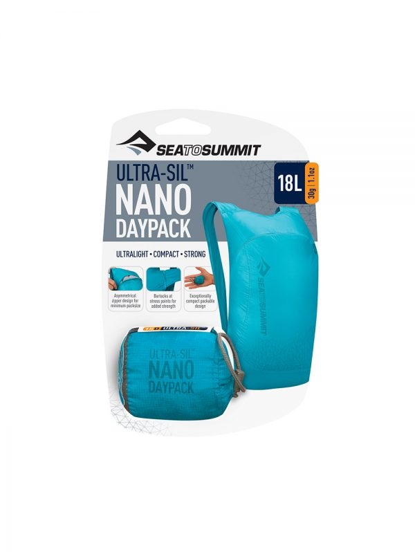 Sea to Summit Ultra-Sil Nano Day Pack Blue | Grey | Teal | Red | White | Yellow