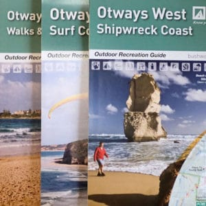 Otways West Central and East Map Pack