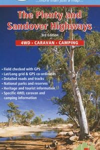 Plenty and Sandover Highways 4WD Caravan Camping - Westprint Outback Map