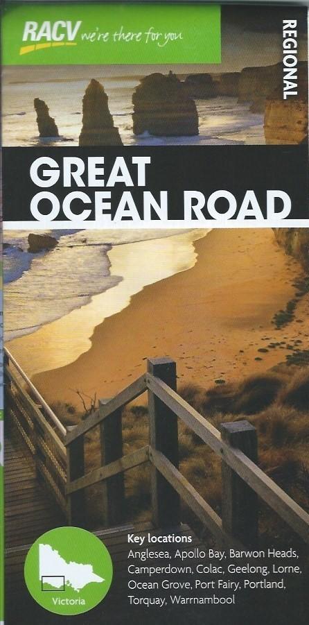 RACV Great Ocean Road Regional Tourist Map