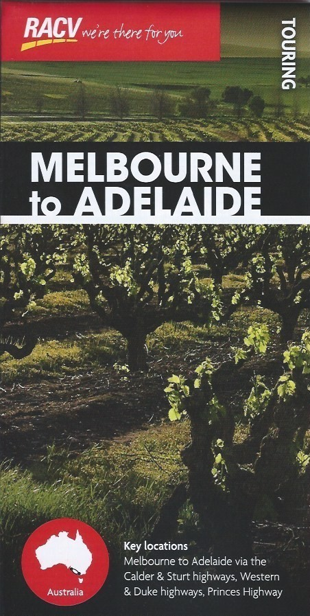 RACV Melbourne to Adelaide Touring Map