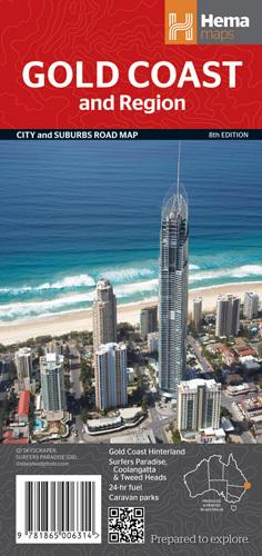 Gold Coast Road Map