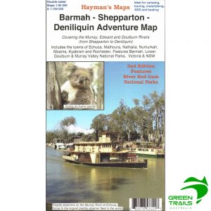 Barmah Shepparton Deniliquin Adventure Map