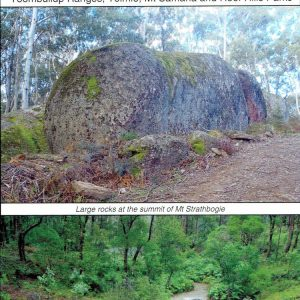 Benalla Mansfield Strathbogie Ranges Adventure Map