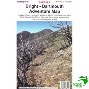 Bright Dartmouth Adventure Map - Waterproof - Rooftop Maps