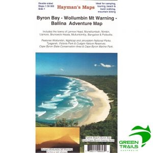 Byron Bay - Wollumbin Mt Warning - Ballina Adventure Map