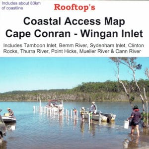 Cape Conran Wingan Inlet Coastal Access Map