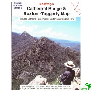 Cathedral Range and Buxton Taggerty Map