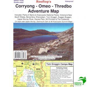 Corryong Omeo Thredbo Adventure Map