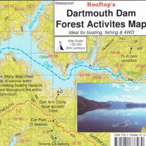 Dartmouth Dam Forest Activities Map