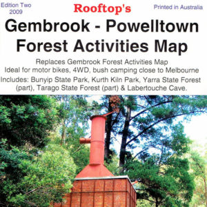 Gembrook Powelltown and Mt Feathertop Hotham Forest Activities Map
