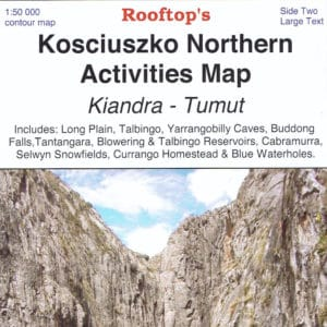 Kosciuszko Northern Kiandra Tumut Activities Map