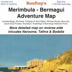 Merimbula Bermagui Adventure Map - Narooma Tathra Coastal Map