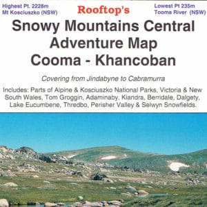 Snowy Mountains Central Cooma KhancobanAdventure Map