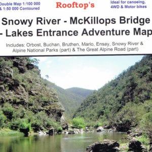 Snowy River McKillops Bridge Lakes Entrance Adventure Map