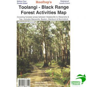 Toolangi Black Range Forest Activities Map