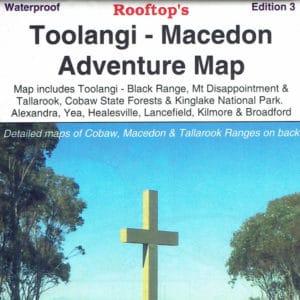 Toolangi Macedon Adventure Map