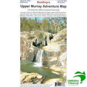 Upper Murray Adventure Map - Rooftop Maps