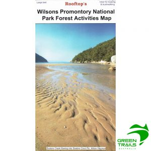 Wilsons Promontory National Park Forest Activities Map - Rooftop Maps
