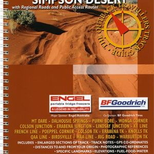 Outback Travellers Simpson Desert Series 1 - Track 4 - 4WD Map Track Guide