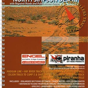 Outback Travellers North Simpson Desert Series 1 - Track 5 - 4WD Map Track Guide