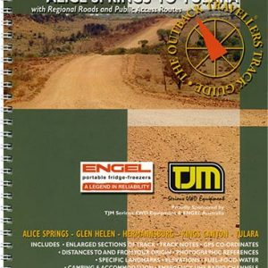 Outback Travellers Alice Springs to Yulara Series 2 - Track 2 - 4WD Map Track Guide