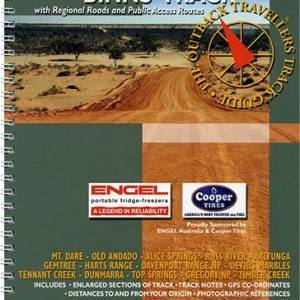 Outback Travellers Binns Track Series 2 - Track 4 - 4WD Map Track Guide