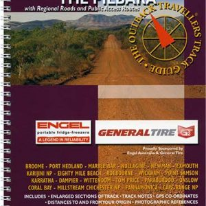 Outback Travellers The Pilbara Series 3 - Track 3 - 4WD Map Track Guide
