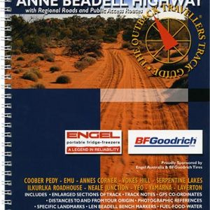 Outback Travellers Anne Beadell Highway Series 4 - Track 1 - 4WD Map Track Guide