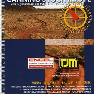 Outback Travellers Canning Stock Route Series 4 - Track 2 - 4WD Map Track Guide