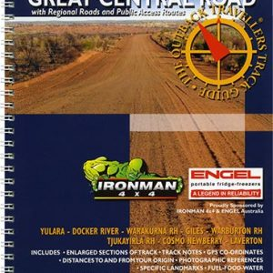 Outback Travellers Great Central Road Series 4 - Track 5 - 4WD Map Track Guide