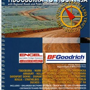 Outback Travellers Tibooburra to Mount Isa Series 5 - Track 2 - 4WD Map Track Guide