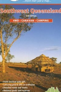 Southwest Queensland 4WD Caravan Camping - Westprint Outback Map