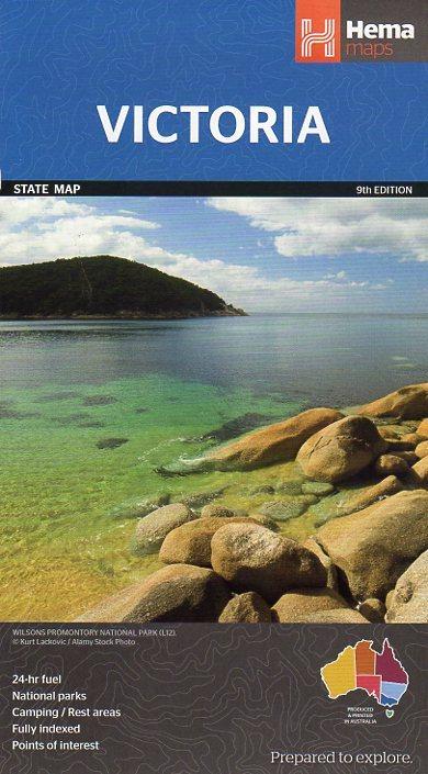 Victoria State Map