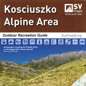 Kosciuszko Alpine Area SV Maps