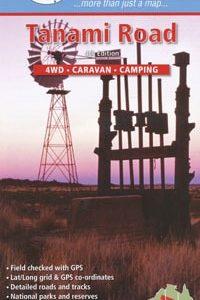 Tanami Road 4WD Caravan Camping - Westprint Outback Map
