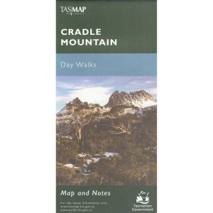 Cradle Mountain Day Walks Tasmania Map and Notes - Tasmap