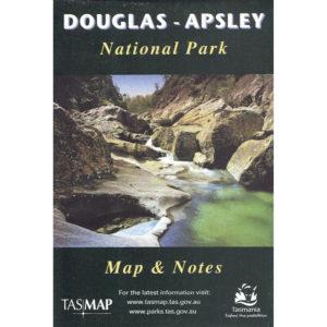 Douglas - Apsley National Park Tasmania Map and Notes - Tasmap