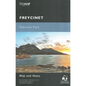 Freycinet National Park Tasmania Map and Notes - Tasmap