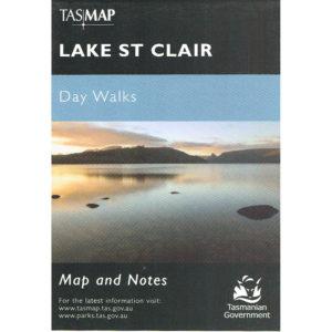 Lake St Clair Day Walks Tasmania - Map and Notes - Tasmap