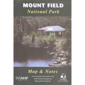 Mount Field National Park Tasmania - Map and Notes - Tasmap
