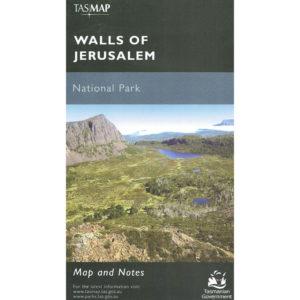 Walls of Jerusalem National Park Tasmania Map and Notes - Tasmap
