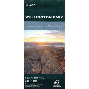 Wellington Park featuring kunanyi Mt Wellington Recreational Map