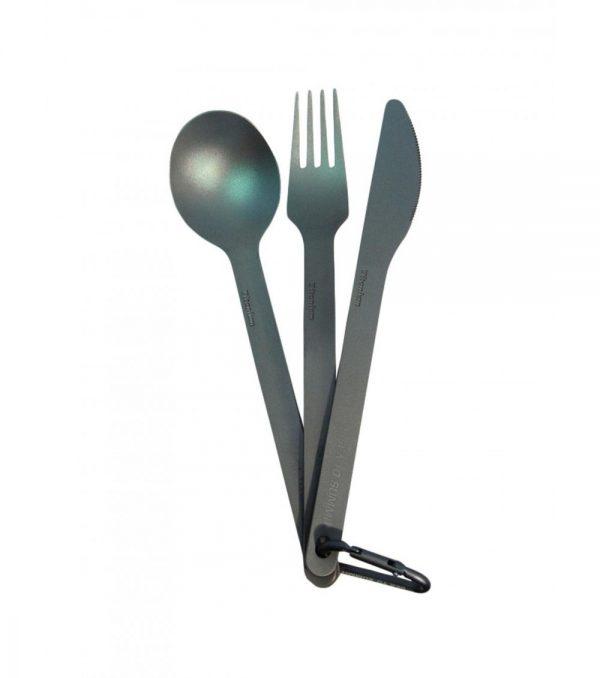 Sea to Summit Titanium 3 Piece Set 40g - Fork | Knife | Spoon