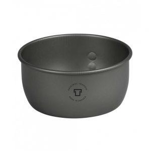 Trangia Aluminium Saucepan for Storm Cooker No 27 Ultralight Hard Anodized 1L Inner 80g