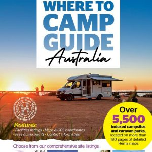 Where to Camp Guide Australia - 1st Edition - Hema